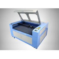 Buy cheap Double Heads CO2 Laser Engraving Cutting Machine for Leather / Wood / Paper / Glass / Acrylic product