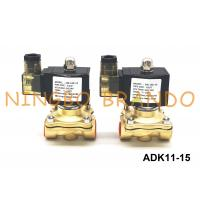Buy cheap G1/2'' DN15 CKD Type Solenoid Valve ADK11-15A/G/N Pilot Operated 2 Way Diaphragm Structure product