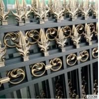 China Outdoor Aluminum Garden Fencing Custom Designed Decorative Security and Privacy Luxury wholesale
