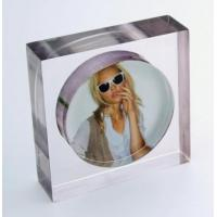 Buy cheap Excellent Service Acrylic Picture Frames Wholesale With Customer's Logo product