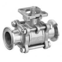 Buy cheap Full Port Stainless Steel Ball Valve With Clamp Ends 1000WOG Floating Ball product