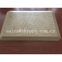 China Anti-fatigue non-slip kitchen polyurethane PU mat , assorted colors and textures on sale