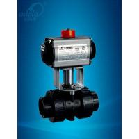 China Pneumatic Plastic Ball Valve on sale