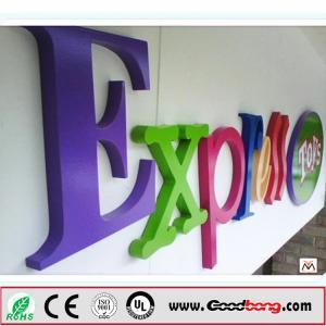 China acrylic vacuum forming 3d lighting waterproof led make light box sign on sale
