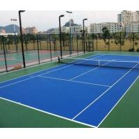Buy cheap Outdoor / Indoor Tennis Court Flooring MaterialSlip Resistant Cushioned For College product