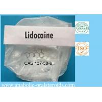 Buy cheap White Powder Local Anesthetic Powder Lidocaine CAS 137-58-6 For Pain Killer Lidocaine Base product