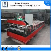 Buy cheap Profile Roofing Sheet Manufacturing Machine 8 - 12m / Min Working Speed product