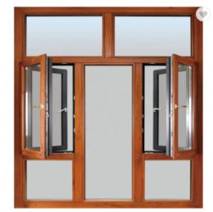 Buy cheap KLUK Aluminium Swing Windows , Double Swing Out Windows With Grill And Mesh product