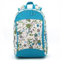 Buy cheap Zipper  Floral Custom Logo Backpacks , Embroidered Book BagsFor Teenage Girls product