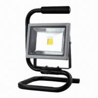 Buy cheap 20W LED Floodlight with stander, High Lumen Output and IP65 Protection Degree for Outdoor Use product