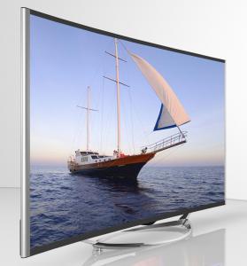 Buy cheap TFT LCD LED orgánico TV curvó el panel, CA curvada pulgada 100V - 240V de 40 4K TV product