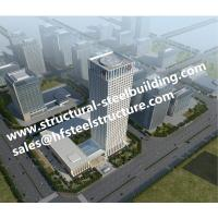 China Commercial Residential multi storey steel frame buildings And High Rise Building Contractor on sale