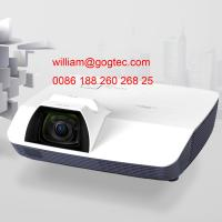 Buy cheap 3500 lumens WXGA 1280*800 best video projector 0.79m with 80screen 7W speaker HDMI product