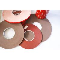 Buy cheap Double Sided Foam Tape Gray carrier material color 120 degree temperature resistant product