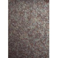 Buy cheap 60 X 60cm Polished Granite Tiles G687 Peach Red Big Slab CE Certification product