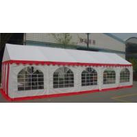 Buy cheap 6*10m PVC Commercial Party Tent With Separated Sidewalls And Foot Legs product