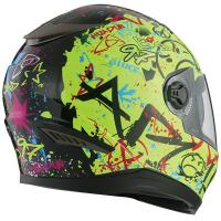 China Dual visors full face cascos motos motorcycle helmet DOT popular for sale on sale