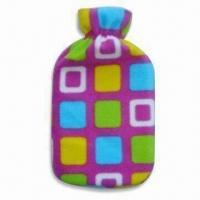 Buy cheap Hot Water Bottle Cover in Various Shapes, Sizes and Colors, Made of Plush, OEM Orders are Welcome product