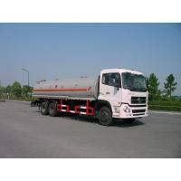 Buy cheap Dongfeng 6x4 245HP 4,887 US Gallon Oil Tanker Truck 18500L , ISO9001 product