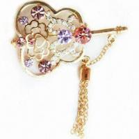 Buy cheap Violin-shaped Brooch, Available in Various Sizes product