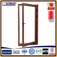 Quality aluminium glass casement swing and hinged doors for sale
