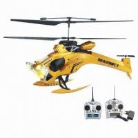 Buy cheap 3.5-channel RC Helicopter, Gyro Big Dragonfly, 27/40MHz Frequency product