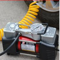 Buy cheap High Pressure Hand Small Air Compressor 3.75kgs With Double Cylinder 180w 12v product