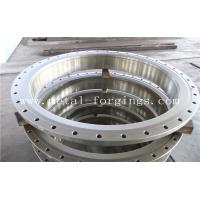 Buy cheap Quenching And Tempering Carbon Steel Flange / Pressure Vessel Flange product