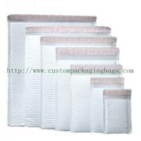 Buy cheap White Poly Bubble Mailers ,Self Adhesive Poly Mailers Envelopes Bags PE Material product