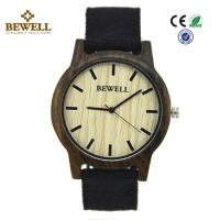 Buy cheap Black Sandalwood Original Custom Wood Watches Hand Made Japan Pc21 Movement product