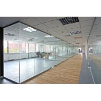 Buy cheap Modern Double Glazed Office Partitions 6063-T5 Grade Aluminum Alloy Frame product