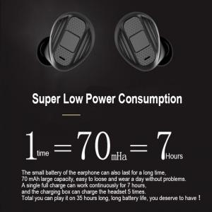 Buy cheap Wireless In-ear 5.0 TWS Bluetooth Headset Two-ear-to-ear Sports Business Headphones product