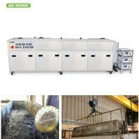 Buy cheap Heat Exchanger Ultrasonic Vessel Cleaning Machine 1800L Large Capacity Clean Radiator product