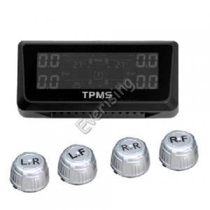 Pressão de pneumático solar do jogo do carro TPMS que monitora pneus da pressão de ar do sensor de TPMS