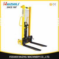 Warehouse used hand pallt lifter 3000kg 1.6m hydraulic manual stacker with foot pedal