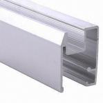 Buy cheap PVDF Painted Black Aluminum Window Extrusion Profiles , Bathroom Aluminum Sliding Windows product