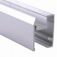 Buy cheap PVDF Painted Black Aluminum Window Extrusion Profiles , Bathroom Aluminum Sliding Windows product
