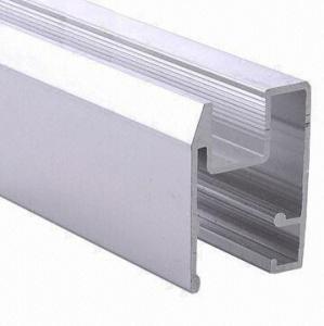 Buy cheap Покрашенные PVDF черные профили штранг-прессования алюминиевого окна, ванная комната алюминиевое сползая Windows product