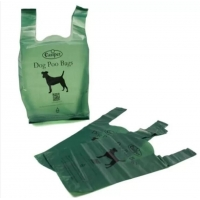 China Eco Friendly 200 Mic PLA Biodegradable Dog Waste Bags on sale