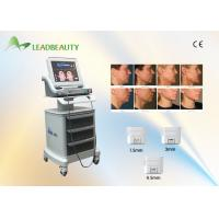 China Portable 300W Face Lifting Skin Rejuvenation HIFU Machine With 1.5MM / 3.0MM / 4.5MM wholesale