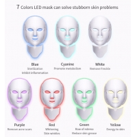 Buy cheap OEM 15w 194 Lamps Led Facial Neck Mask For Beauty product