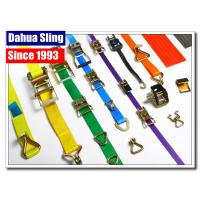 Buy cheap Stainless Steel Buckled Lorry Ratchet Straps , Motorbike Tie Down Straps Flexible product