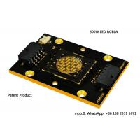 Buy cheap Stage Lighting 500W LED Module RGBLA Multicolor Profile LED Engine from wholesalers