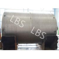 Buy cheap High Strength Steel Integral Type Wire Rope Winch Drum For Crane Winch product
