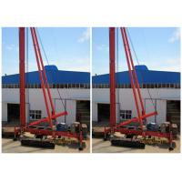 Buy cheap Crawler Mounted Drill Rig For Pile Foundation Max Drilling Depth 34m product