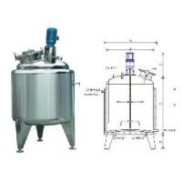 Buy cheap Professional Mixing bucket / Tank Agitator Mixer / mixing equipment for Liquid with Milling product