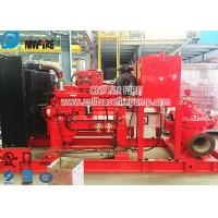 Buy cheap CCCF Standard Horizontal Centrifugal Split Case Fire Pump Set With Cummins Diesel Engine product