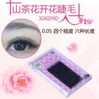 Buy cheap Black Soft Eyelash Extensions Camellia Lash Extensions 0.05 Mutiple Length from wholesalers