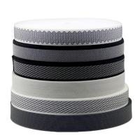 Buy cheap Woven Design 20mm Sewing Edge Tape Polyester Pp Material Plate / Stripe Pattern product