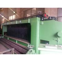 Buy cheap Galvanized / Pvc Coated Gabion Mesh Knitting Machine With 2300mm Max. Netting Width product